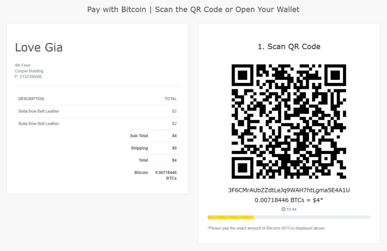 accept-bitcoin-payin-local-by-align-commerce-for-woocommerce screenshot 2