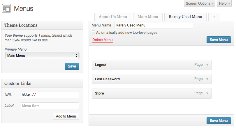 advanced-custom-fields-nav-menu-field screenshot 2