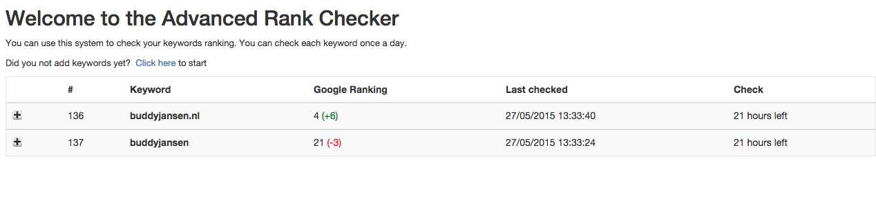 advanced-rank-checker screenshot 1