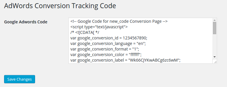 adwords-conversion-tracking-code screenshot 1