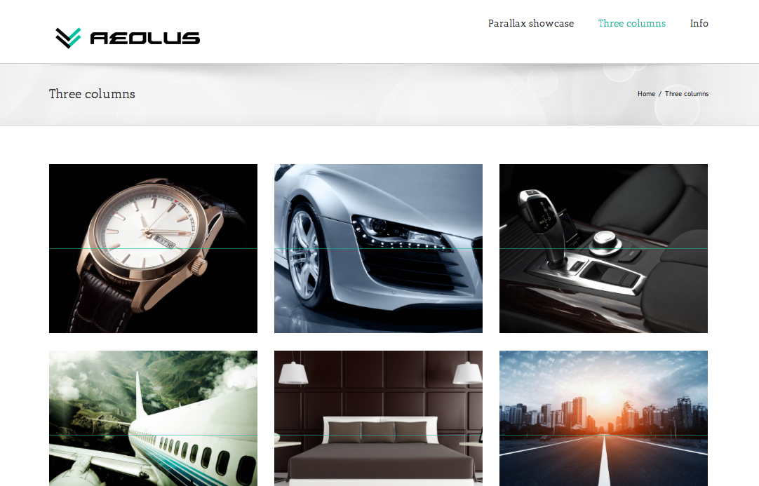 aeolus-creative-portfolio screenshot 3