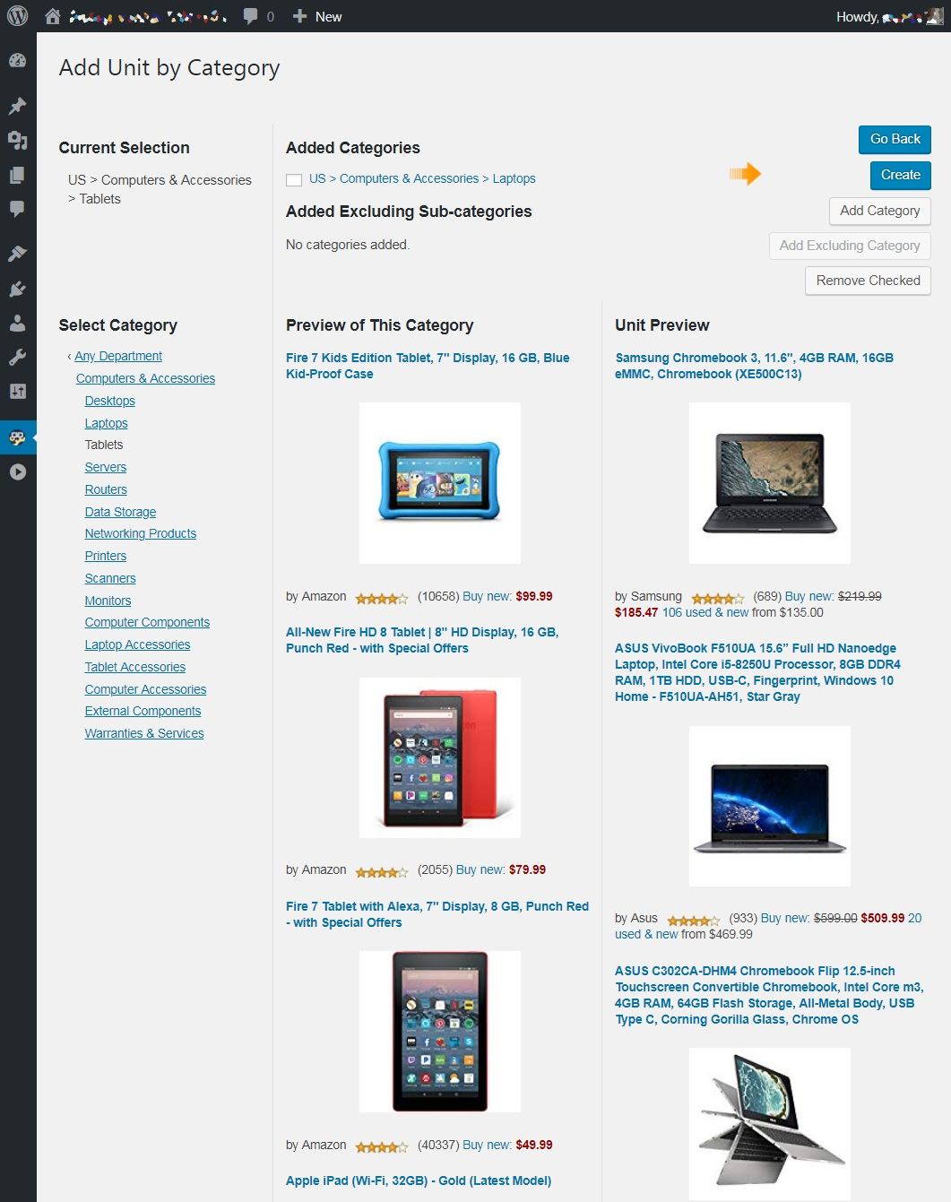 amazon-auto-links screenshot 3