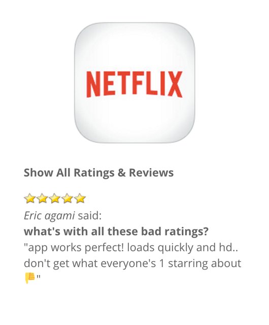 app-reviews-lite screenshot 1
