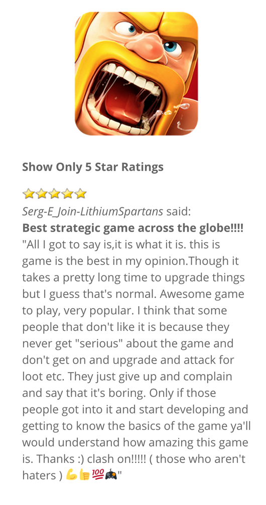 app-reviews-lite screenshot 2