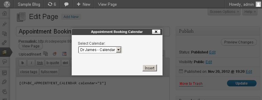 appointment-booking-calendar screenshot 2