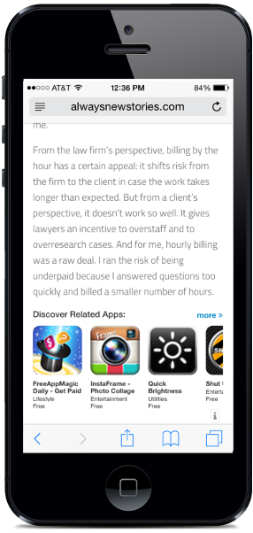 appvitrine-bring-the-power-of-mobile-apps-into-your-blog screenshot 2