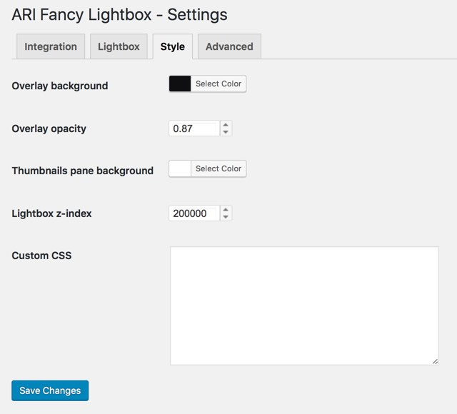 ari-fancy-lightbox screenshot 6