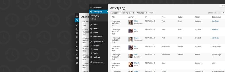 Activity Log — WordPress Plugins