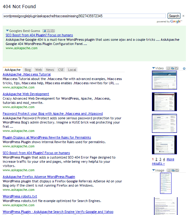 askapache-google-404 screenshot 3