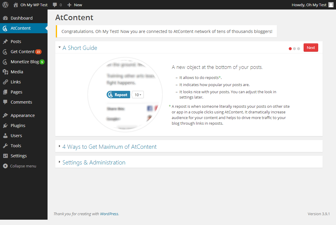 atcontent screenshot 2