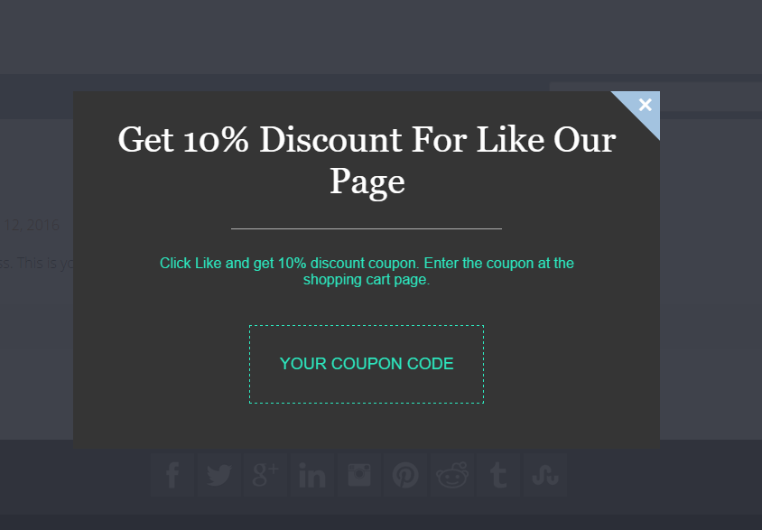 auto-gift-coupon-popup screenshot 1