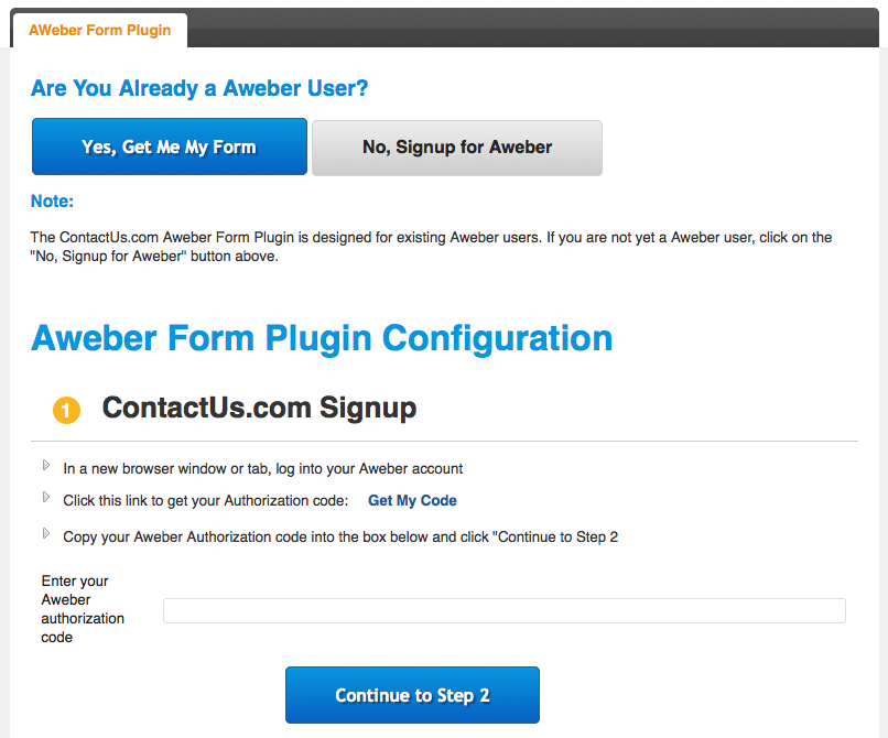 aweber-form screenshot 7