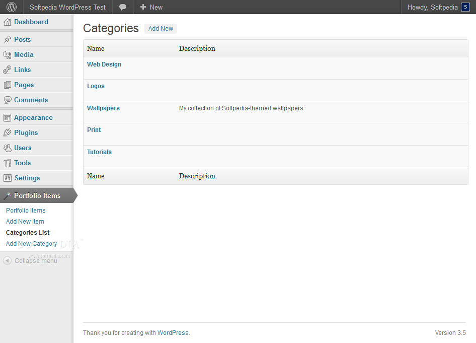 awesome-filterable-portfolio screenshot 2