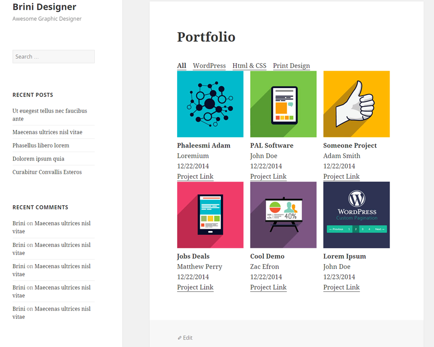 awesome-filterable-portfolio screenshot 8
