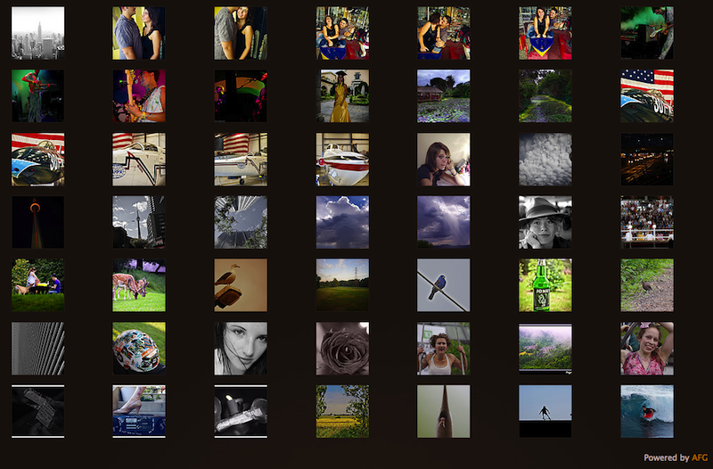 awesome-flickr-gallery-plugin screenshot 2