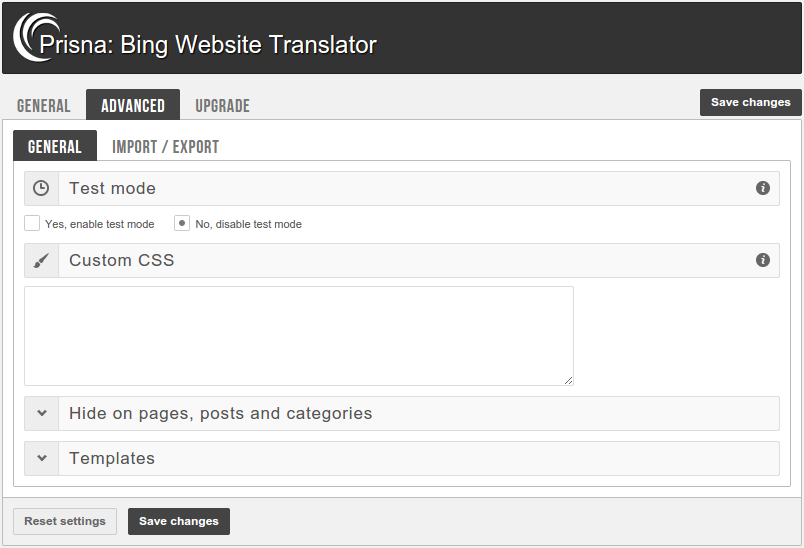 bing-website-translator screenshot 2