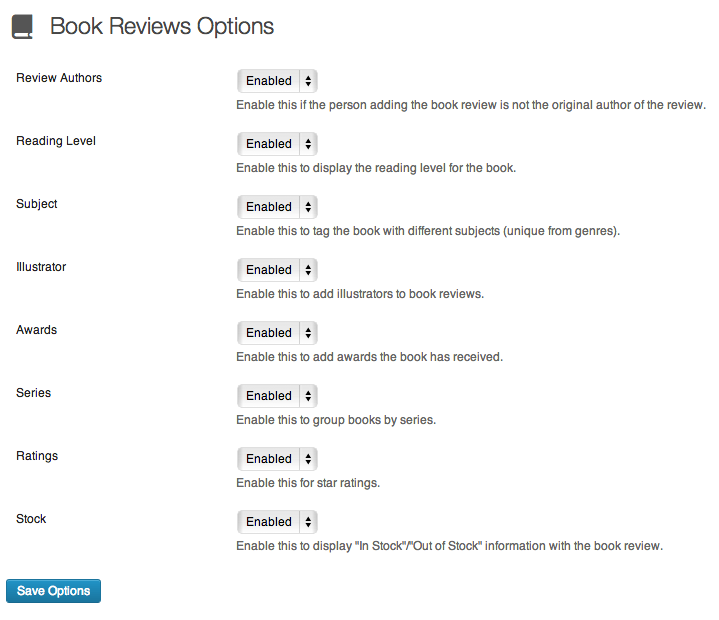 book-review-library screenshot 4