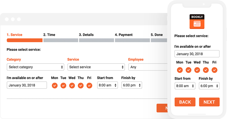 bookly-responsive-appointment-booking-tool screenshot 1