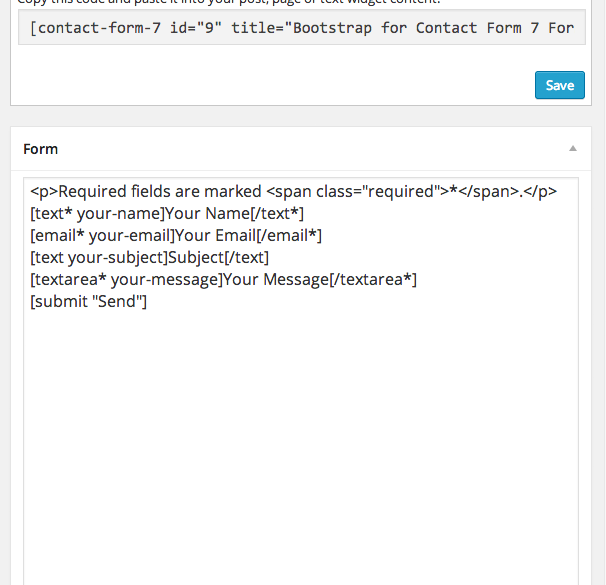 bootstrap-for-contact-form-7 screenshot 2