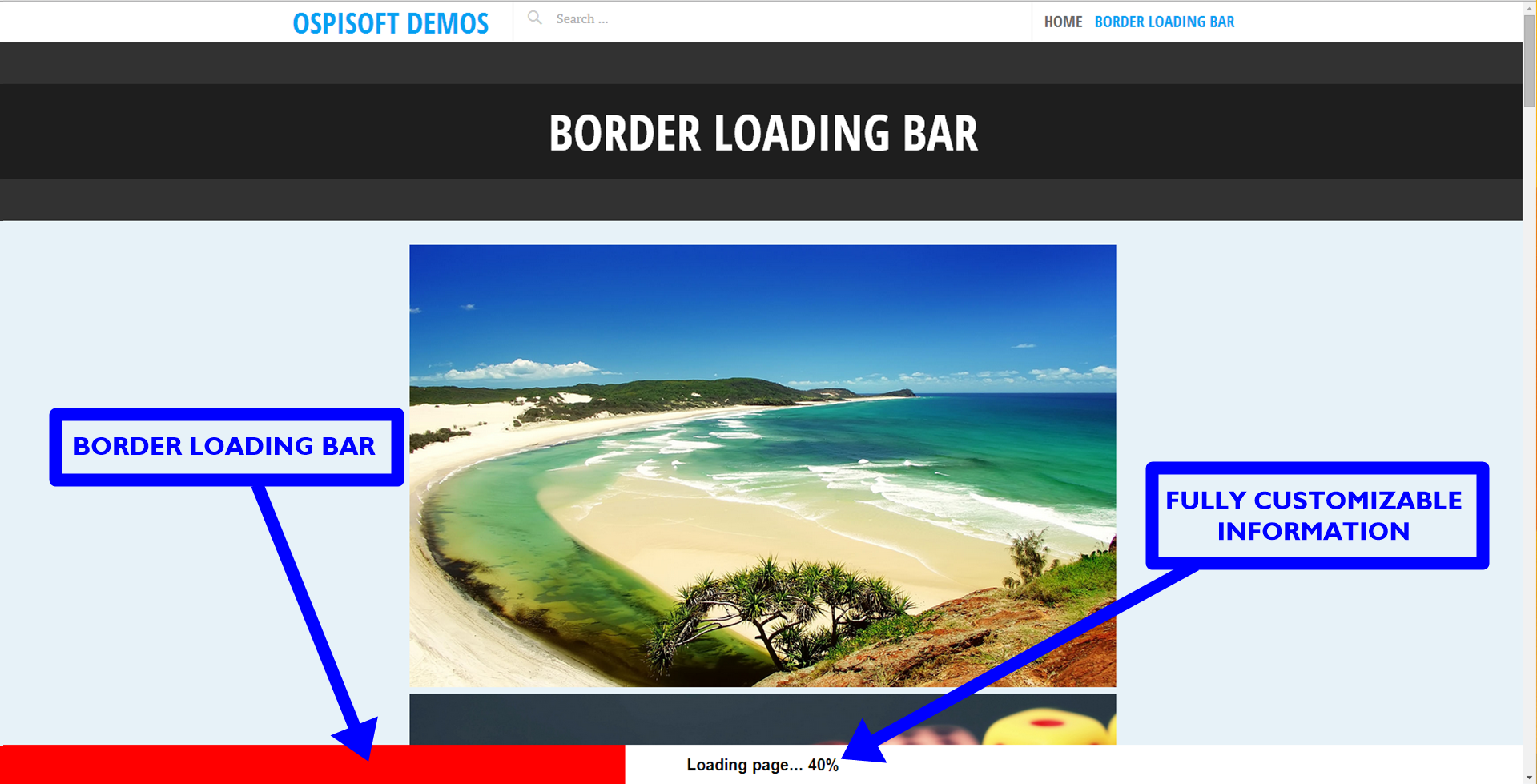 border-loading-bar screenshot 1