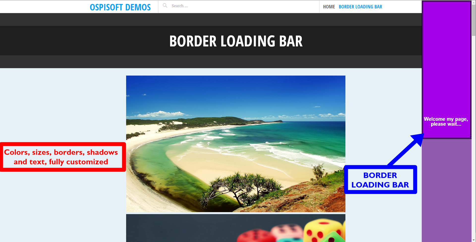 border-loading-bar screenshot 3
