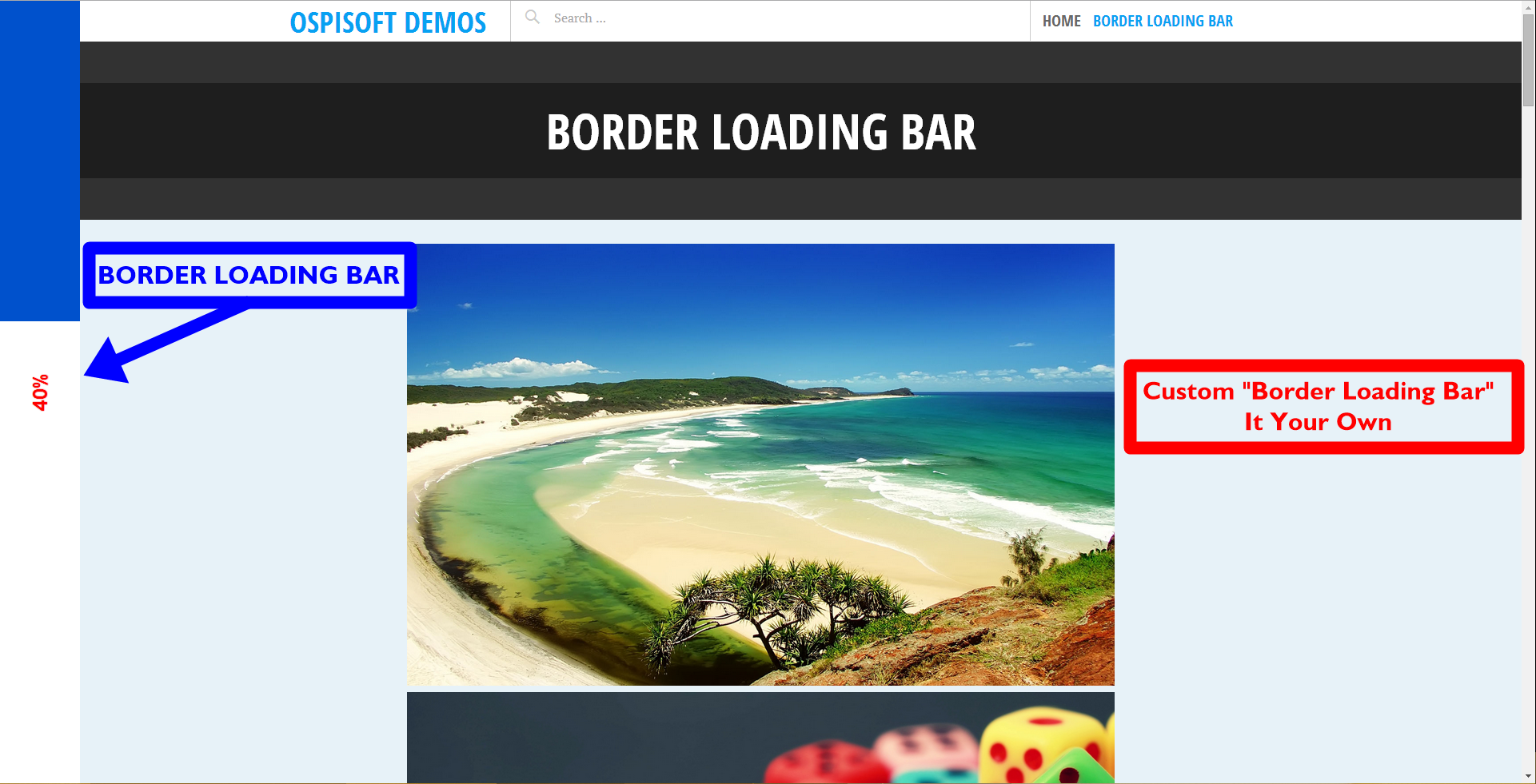 border-loading-bar screenshot 4