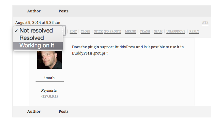 buddy-bbpress-support-topic screenshot 4