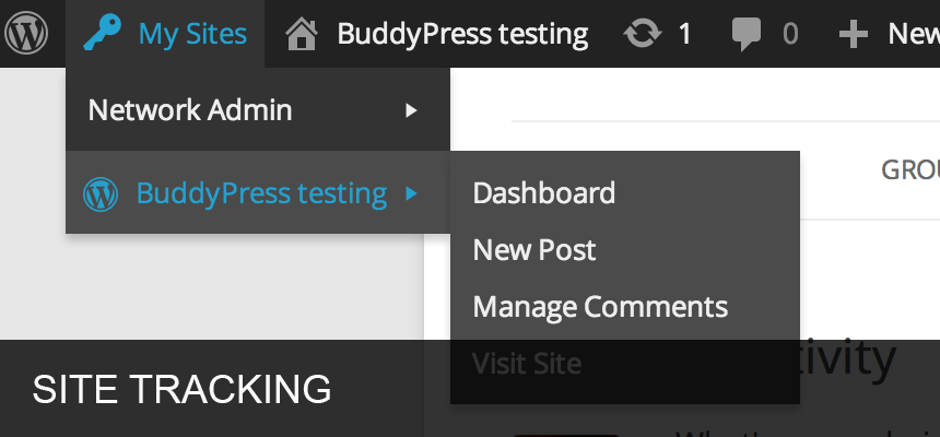 buddypress screenshot 7