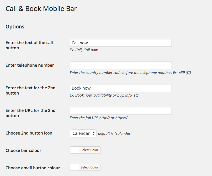 callbook-mobile-bar screenshot 1