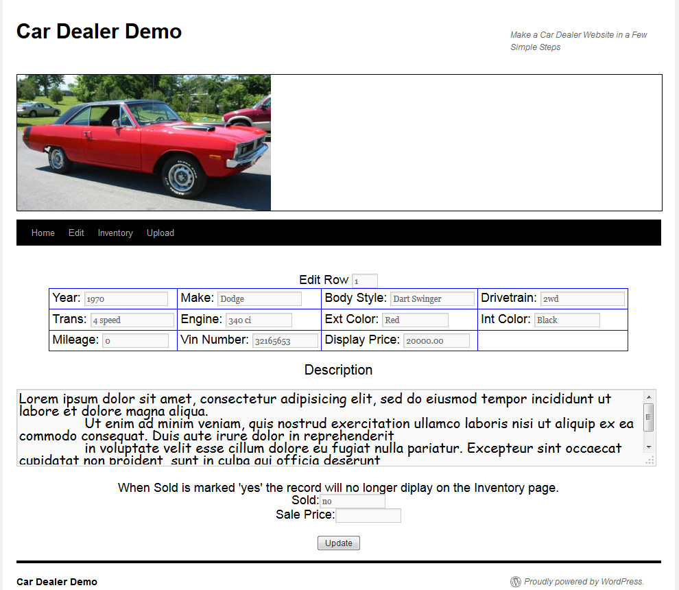 car-dealer screenshot 1