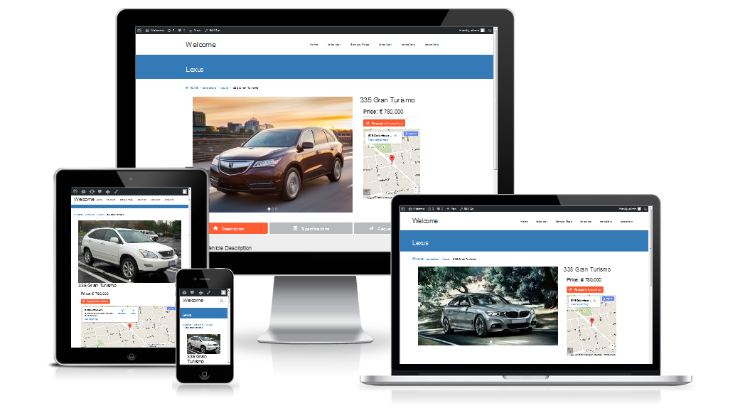 cars-seller-auto-classifieds-script screenshot 2