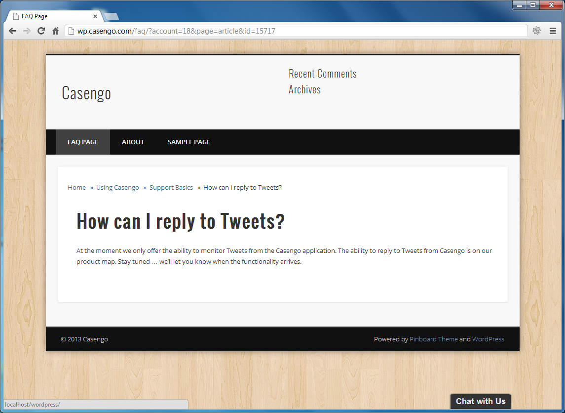 casengo-faq-web-self-service-plugin screenshot 6