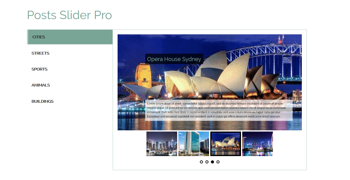 category-posts-slider-pro screenshot 5