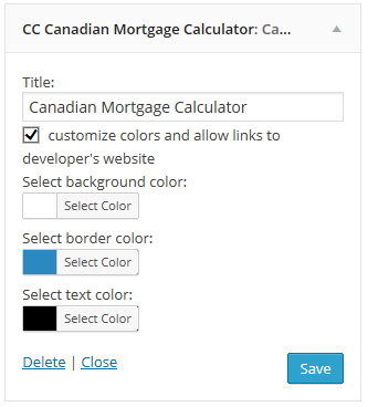 cc-canadian-mortgage-calculator screenshot 1