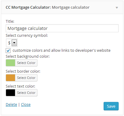 cc-mortgage-calculator screenshot 1