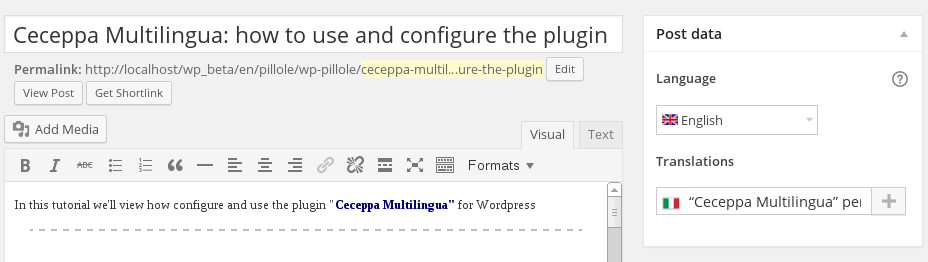 ceceppa-multilingua screenshot 7