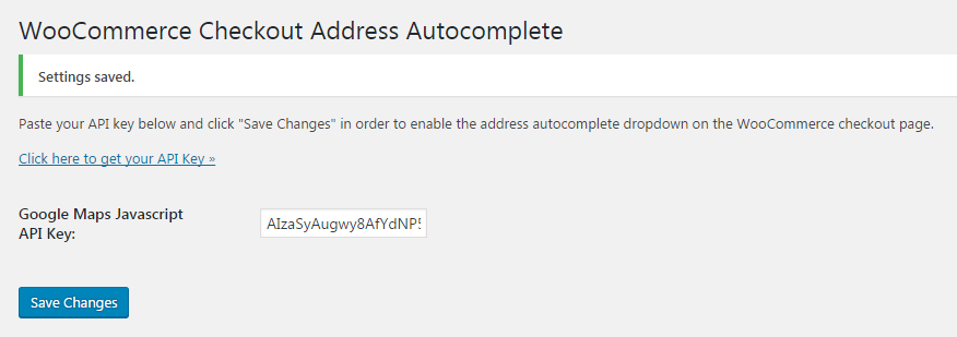 checkout-address-autocomplete-for-woocommerce screenshot 4