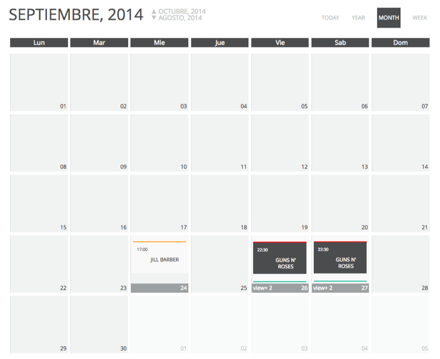 chronosly-events-calendar screenshot 10