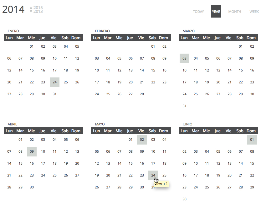 chronosly-events-calendar screenshot 9