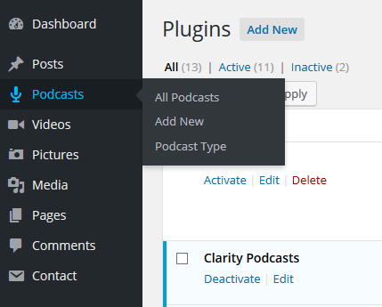 clarity-podcasts screenshot 1