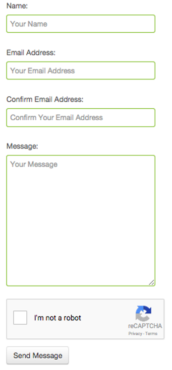 clean-and-simple-contact-form-by-meg-nicholas screenshot 1