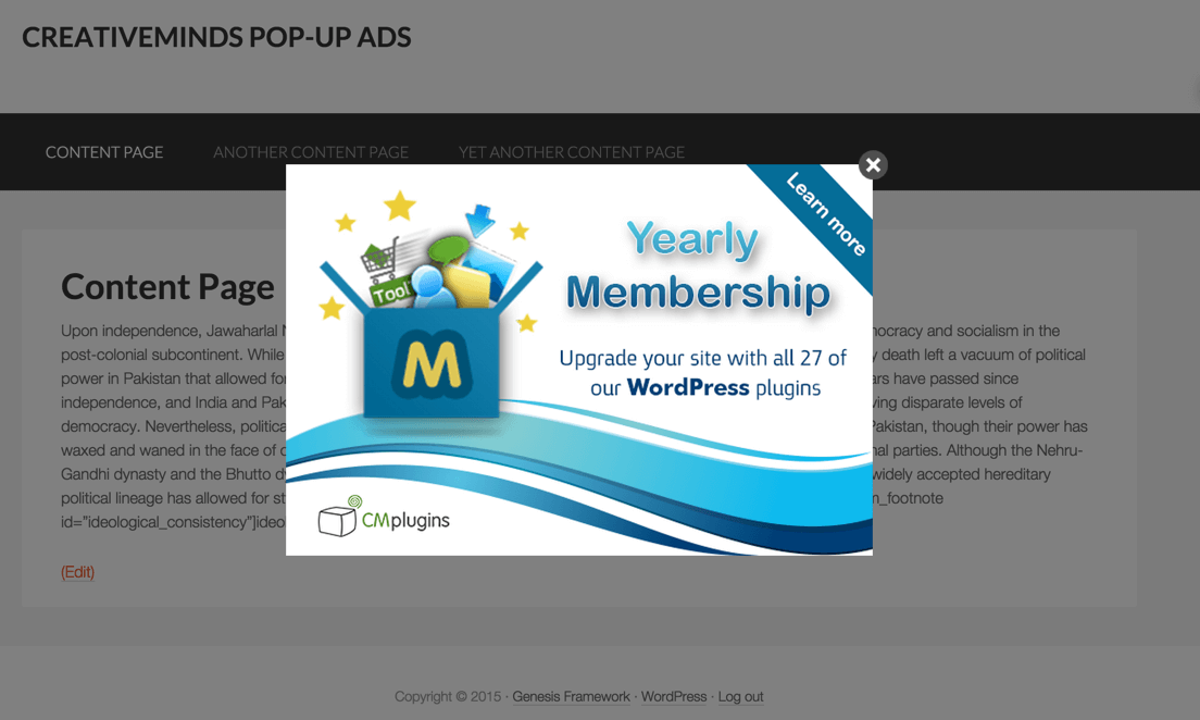 cm-pop-up-banners screenshot 1