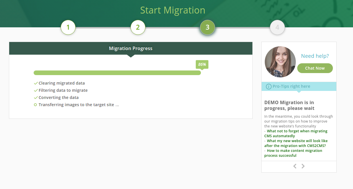 cms2cms-joomla-to-wp-migration screenshot 4