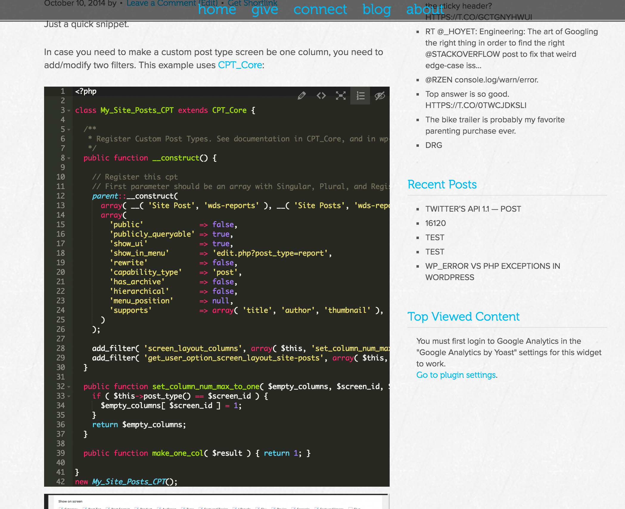 code-snippets-cpt screenshot 5