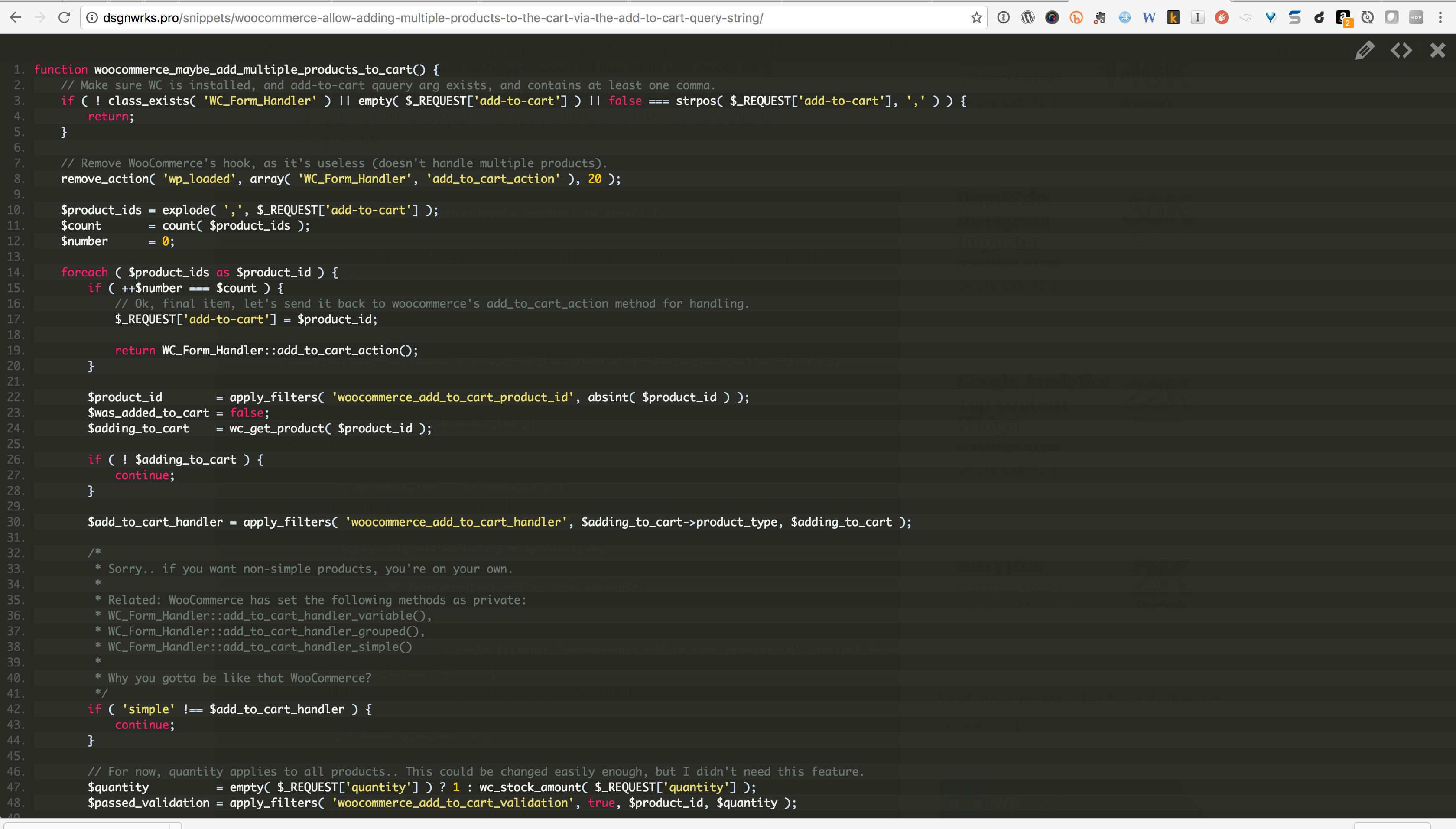 code-snippets-cpt screenshot 6