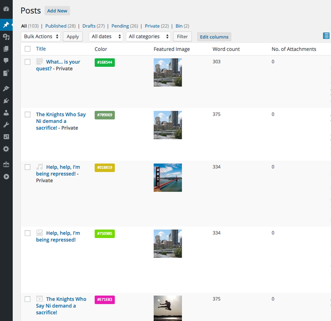 codepress-admin-columns screenshot 9
