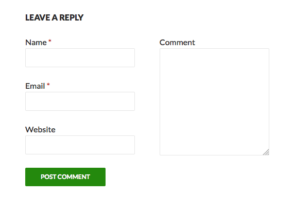 comment-form screenshot 2
