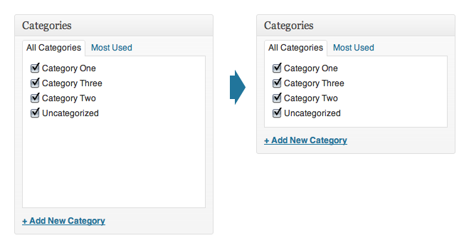 compact-taxonomy-checkboxes screenshot 1