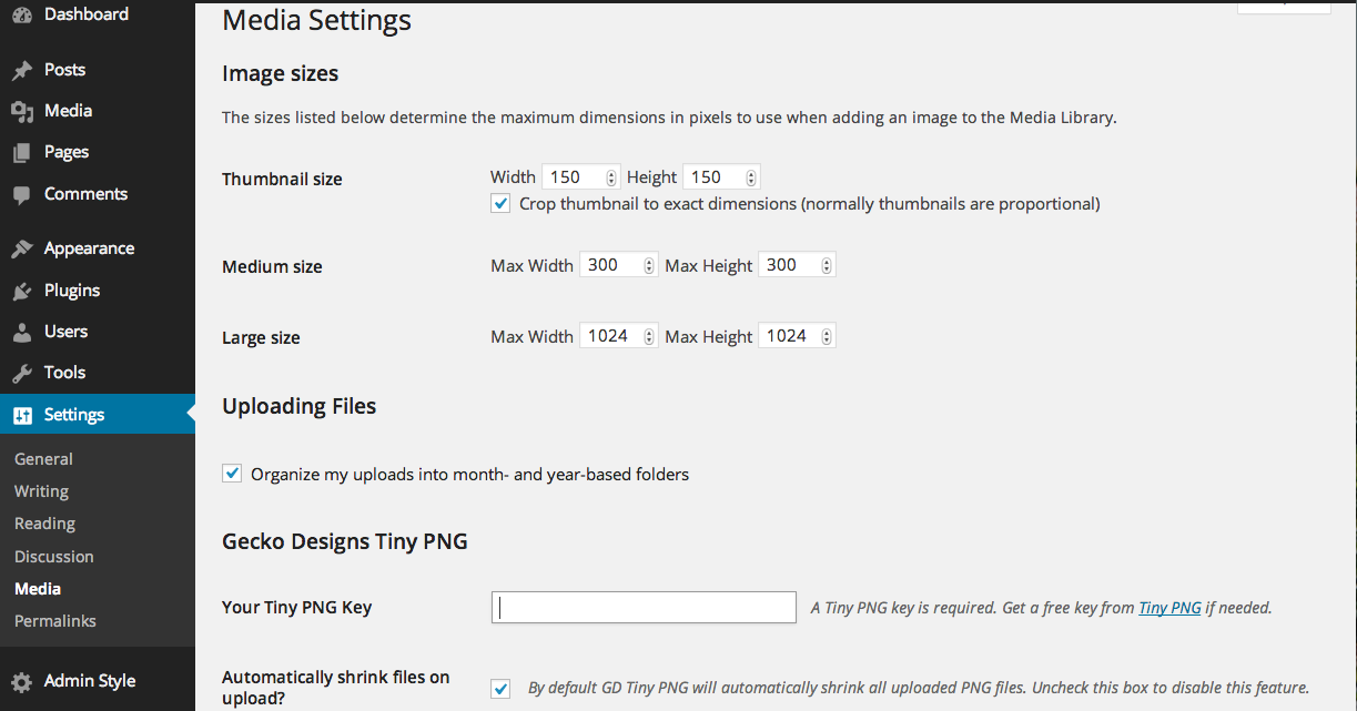 compress-png-for-wp screenshot 2