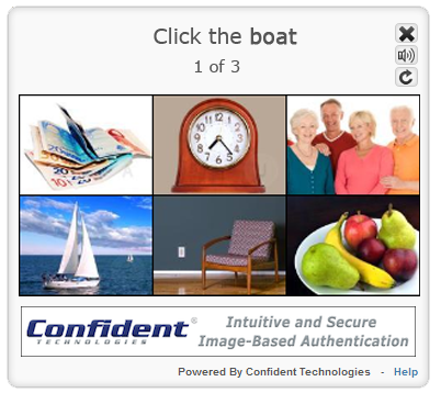 confident-captcha screenshot 2
